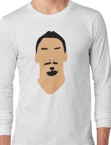 ibrahimovic face Long Sleeve T-Shirt