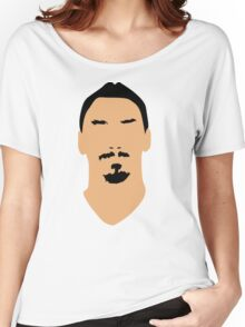 ibrahimovic face Women's Relaxed Fit T-Shirt