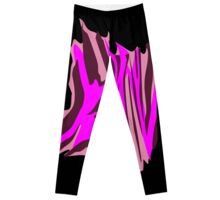 Animal skin Zebra Leggings