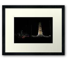 Lunar Eclipse - Perth, Western Australia Framed Print