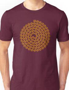 SPIRAL MALA - 108 OM's T-Shirt