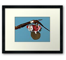 Santa Claus Will Have Some Delay Framed Print