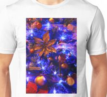 Blue Christmas Unisex T-Shirt