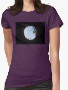 Skyview at the Blarney Castle  Womens Fitted T-Shirt
