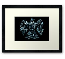 Alien Agents Framed Print