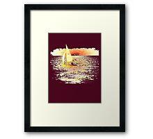 Sailing Lake Ontario Framed Print