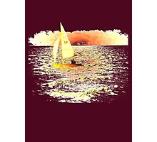 Sailing Lake Ontario Photographic Print