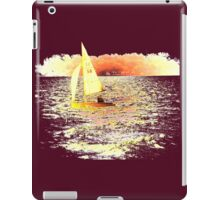 Sailing Lake Ontario iPad Case/Skin