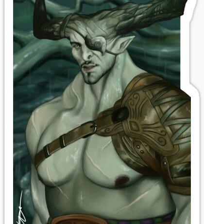 Dragon Age Inquisition The Iron Bull Sticker