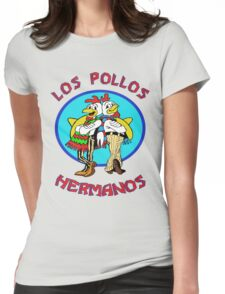 Breaking Bad Los Pollos Hermanos Womens Fitted T-Shirt