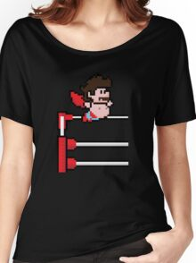 8Bit Nacho Libre Women's Relaxed Fit T-Shirt