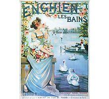 Belle Epoque Ad Photographic Print
