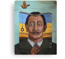 The Book Of Surrealism Canvas Print