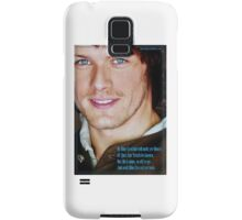 Outlander: Blue Eyed Lad Samsung Galaxy Case/Skin