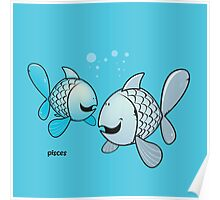 funny zodiac/pisces Poster