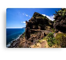 Paradise Cliff - Nature Photography Canvas Print