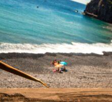 Wild Beach - Nature Photography Sticker