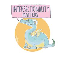 intersectionality matters Photographic Print