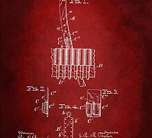 Soldier Field Equipment Patent 1901 by Patricia Lintner