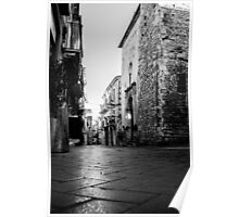 Streets of Italy - Guardiagrele Poster