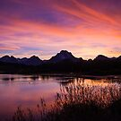 A Teton Sunset by Gary Lengyel