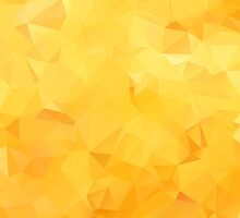 Abstract Orange Sunny Triangular Background by sale