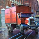 Post Office Supplies Scammell rigid 6 by Mike Jeffries