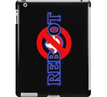No Reboot (B) iPad Case/Skin