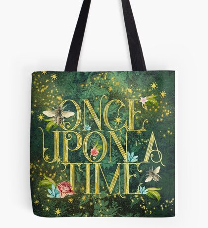 Bee Once Upon a Time Tote Bag