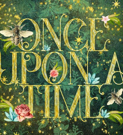 Bee Once Upon a Time Sticker