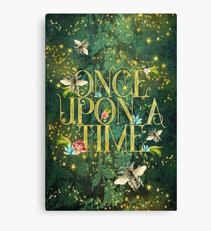 Bee Once Upon a Time Canvas Print