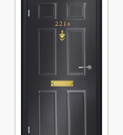 221B Baker Street - Bodbeli Sticker