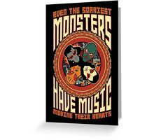 Monsters of Rock Vol. III Greeting Card