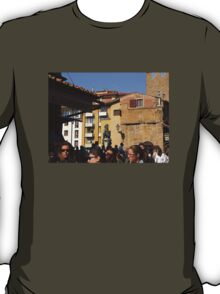 Leaving The Ponte Vecchio.............................Florence T-Shirt