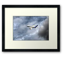Airbus A380 Own the Sky Framed Print