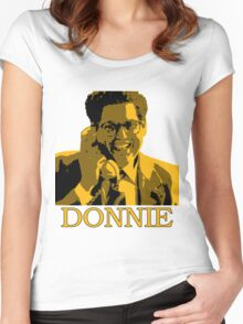 The Wolf Of Wall Street - Donnie Women's Fitted Scoop T-Shirt