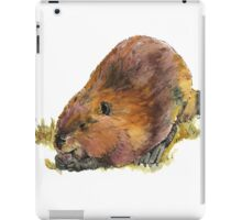 Pudge the Beaver iPad Case/Skin