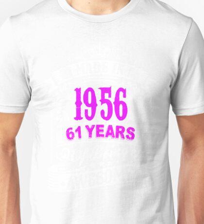 Born  in 1956 Unisex T-Shirt