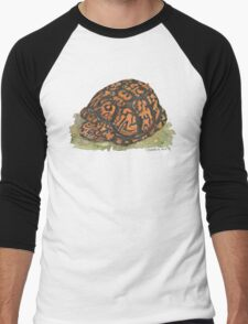 Eastern Box Turtle Men's Baseball ¾ T-Shirt