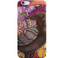 Crow and Key iPhone Case/Skin