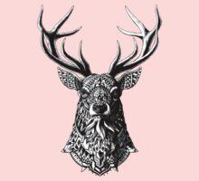 Ornate Buck Baby Tee