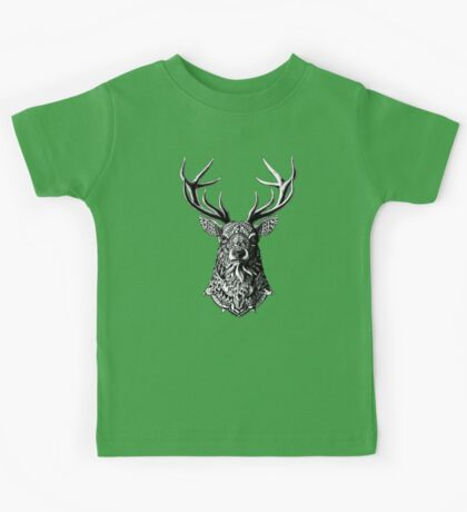 Ornate Buck Kids Tee