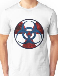 Biohazard and Radioactive Symbol Unisex T-Shirt