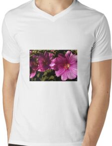 Lavatera - A Study in Pink Mens V-Neck T-Shirt