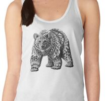 Ornate Bear Women's Tank Top