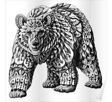 Ornate Bear Poster