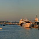 Port of Poole Pano by RedHillDigital
