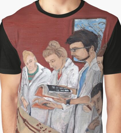 The anatomy lession Graphic T-Shirt