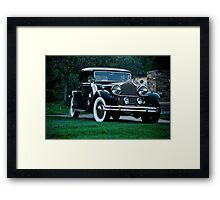 1931 Packard 845 Deluxe Eight Sports Sedan I Framed Print