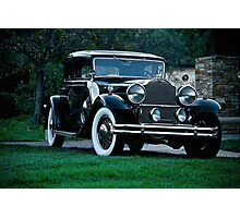 1931 Packard 845 Deluxe Eight Sports Sedan I Photographic Print